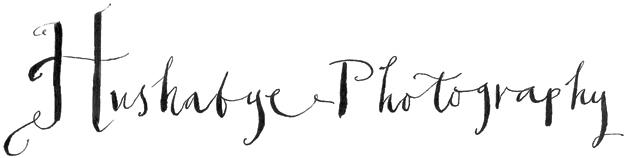 Website Logo for Hushabye Photography