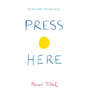 Press Here - Herve Tullet, Baby Book Club