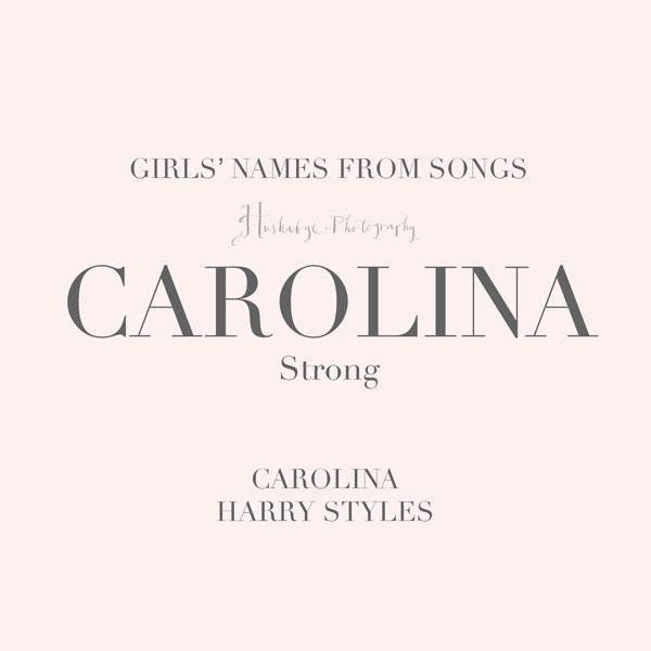 Songs-girl-carolina